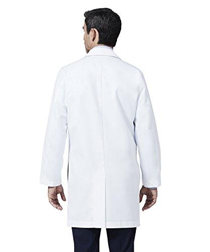 medelita Men's Laennec Classic Fit M3 - Size 36, White by Medelita (Image #1)