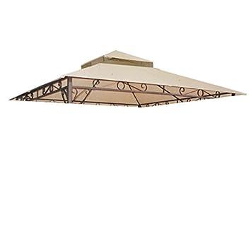 10x10 ft Waterproof 2-tier Gazebo Canopy Top Replacement  sc 1 st  Amazon.com & Amazon.com: 10x10 ft Waterproof 2-tier Gazebo Canopy Top ...