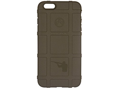 Hunter Shotgun Engraved Magpul MAG485 Field Cell Phone Case ODG Olive Drab Green for Iphone 6 PLUS by NDZ Performance