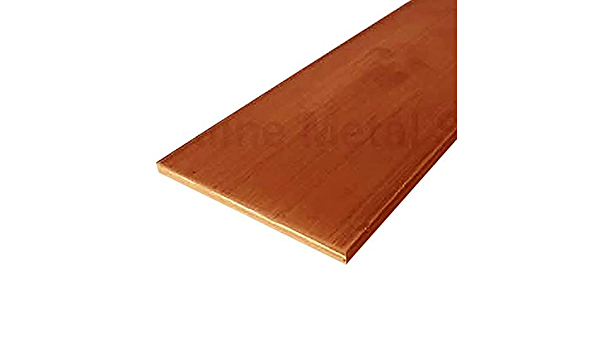 Online Metal Supply C110 Copper Flat Bar 1//8 x 1 x 72