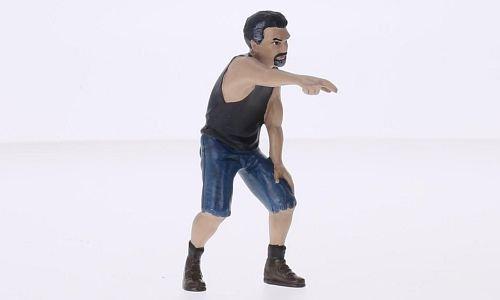Figur Derek, Modellauto, Fertigmodell, American Diorama 1:18