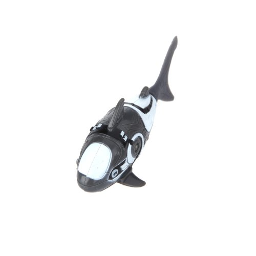 Kingzer Shark Pattern Water Activated Electronic Lifelike Swimming Fish Kids Toy Grey from KINGZER