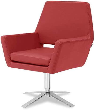 Modern Unique Lift Swivel Occasional Accent Chair