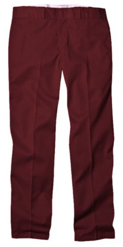 - Dickies Men's Original 874 Work Pant, Maroon, 34W x 30L