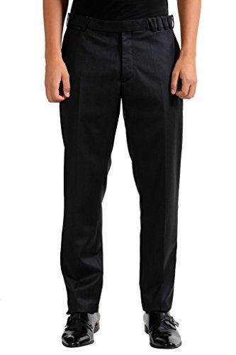 Christian Dior Men's 100% Wool Black Dress Pants US 34 IT 50; - Christian Dior Mens Clothing