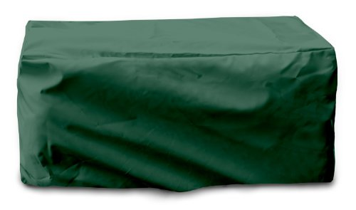 KoverRoos Weathermax 64215 Cushion Storage Chest Cover, 54-Inch Length by 33-Inch Width by 28-Inch Height, Forest Green ()