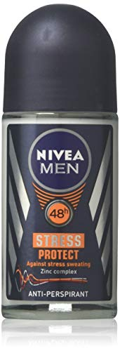 Nivea for Men Deodorant Roll On 1.69 oz (Stress Protect)