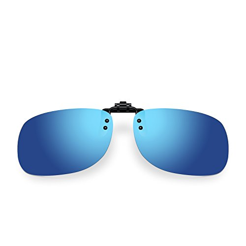 Besgoods Polarized Flip up Clip on Sunglasses Glasses Sports Driving - Sunglasses Ophthalmic