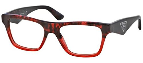 c0e28994084 Prada PR20QV Eyeglasses-RO0 1O1 Red Havana Grad Red-52mm
