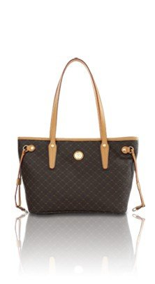 RIONI Signature Luxury Tote , Small (Melie Bianco Top Handle)