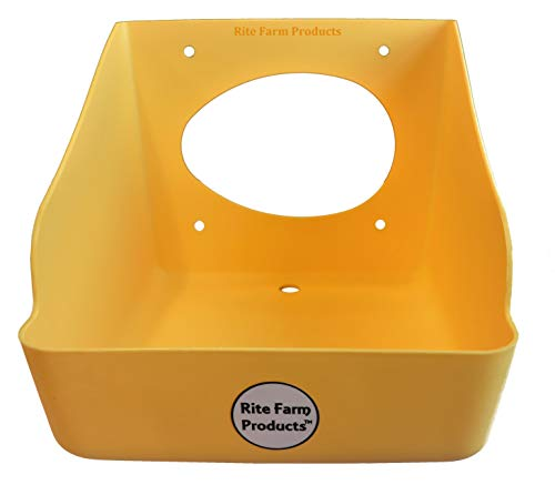 RITE FARM PRODUCTS H.D. WASHABLE POLY EGG NESTING BOX CHICKEN LAYING COOP NEST (Best Egg Laying Breeds)