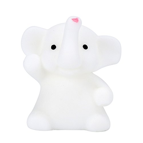 Sothread Squeeze Toys,4CM Cute Elephant Mochi Scented Slow Rising Squishy Toy for Stress Relief New Cute Japan