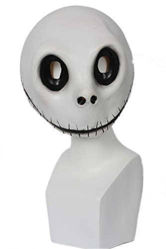 (xcoser Jack Skellington Mask Costume Props For Adult Halloween Christmas)