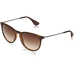 Ray Ban Erika Women's Wayfarer Sunglasses,Rubber Havana,54mm
