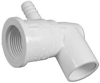Waterway Plastics 211-0510 0.5 Slip x 0.375 in. Barb Adjustable Cluster Jet Body