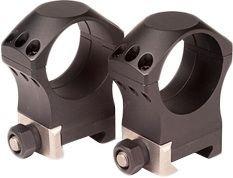 Nightforce Ring Set - 1.500 X-Treme - 34mm - Ultralite, 6 Bolt, Black, 1.5 A216 from NightForce