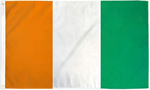 Premier Cotes - 3x5 Cote D'Ivoire Flag Ivory Coast Banner West African Republic Pennant