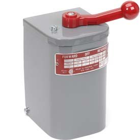 (2 hp - 3 hp Electric Motor Reversing Drum Switch - Position = Maintained # RS-5)