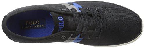Polo Ralph Lauren Mens Halford Fashion Sneaker Polo Nera