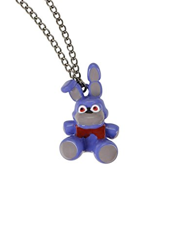 [Five Nights At Freddy's Bonnie 3D Necklace] (Fnaf Bonnie Costume)