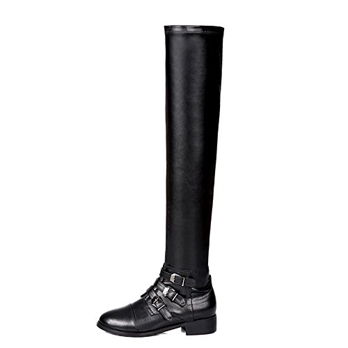 Nine SevenThigh High Boots - Botas mujer cow leather