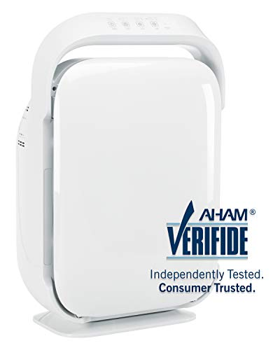 GermGuardian AC9200WCA 3-in-1 Large Room Air Purifier, HEPA Filter, UVC Sanitizer, Up to 335 sq. ft, Home Air Cleaner Traps Allergens for Smoke, Odors, Dust, Germs, Smokers,3 Yr Warranty Germ Guardian