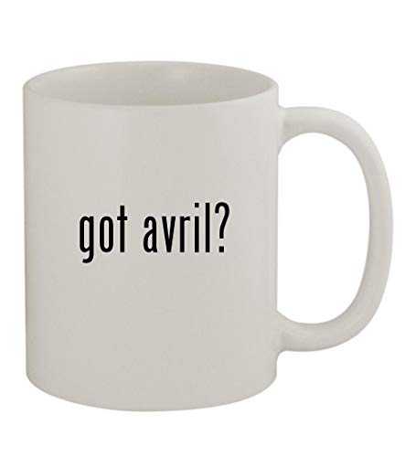 got avril? - 11oz Sturdy Ceramic Coffee Cup Mug, White, used for sale  Delivered anywhere in USA