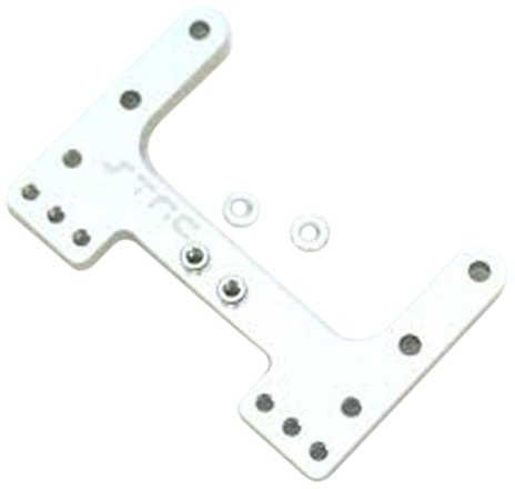Rear Camber Aluminum Link - ST Racing Concepts STC9564S Aluminum Rear Camber Link Plate for The SC10, B4 and T4 (Silver)
