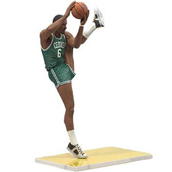 Boston Celtics McFarlane NBA Legends Series-3 Bill Russell Action Figure by McFarlane