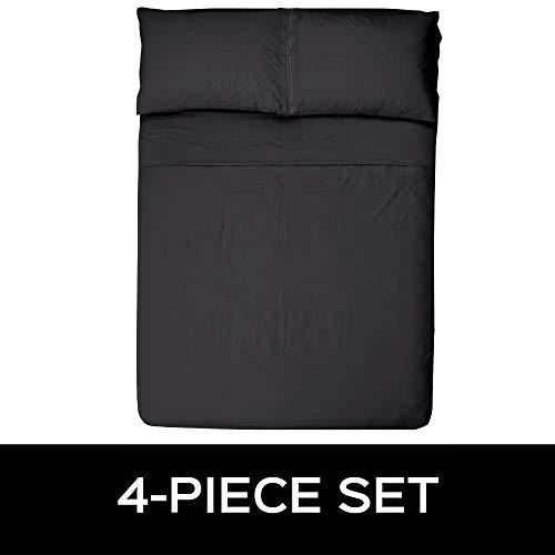 Style Basics Super Soft Brushed Microfiber Bed Sheet Set  1800 Series EasyClean Slate California