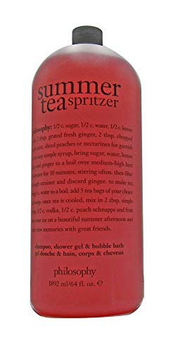 Philosophy Shampoo, Shower Gel, Bubble Bath (64 fl. oz. Summer Tea Spritzer)