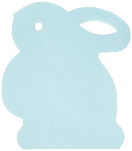 Egg-stra Special Easter Bunny-Shaped Note Pad Assorted Colors Party Favours, Paper, 4