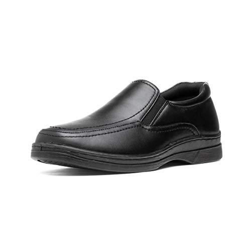 Hobos Mens Side Twin Gusset Shoe in Black