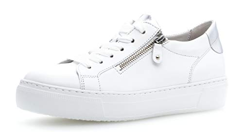 silber Wechselfußbett Weiss D'affaires best chaussure 23 De faible 314 Low baskets reißverschluss sportive Basse Femme Ville chaussure Fitting Gabor optifit WAHTqUfH