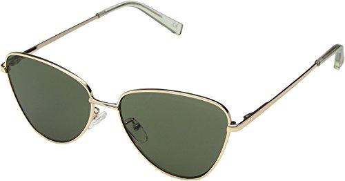 Le Specs Unisex Echo Matte Gold/Khaki Mono One - Specs Mens Sunglasses Le