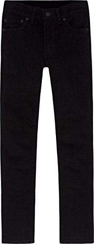 Levi's Boys 8-20 510 Super Skinny Fit Jean , BLACK STRETCH, 14 Regular