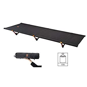 G2 GO2GETHER Foldable Camping Cot, Ultra Lightweight 4 lb, Comfortable and Durable, Max Loading Capacity 264lb