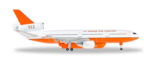 Dc 10 Airplane (HE529082 Herpa Wings 10 Tanker Air Carrier DC-10-30 1:500 Model)