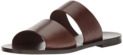 Sandalo Scorrevole Aldo Mens Priour Marrone Scuro
