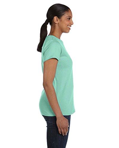 Donna Clean Mint shirt Asimmetrico Hanes T I7naOxqw78