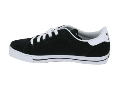 (アディダス) Adidas Skate AdiCourt AS (black/runninwhite / black) スケートAdiCourt AS(黒/runninwhite/黒)