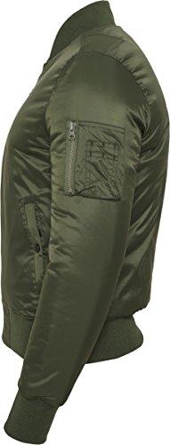 Classics Blouson Basic Homme Jacket Urban olive Grün Bomber 176 Vert 7FHTdFnqx
