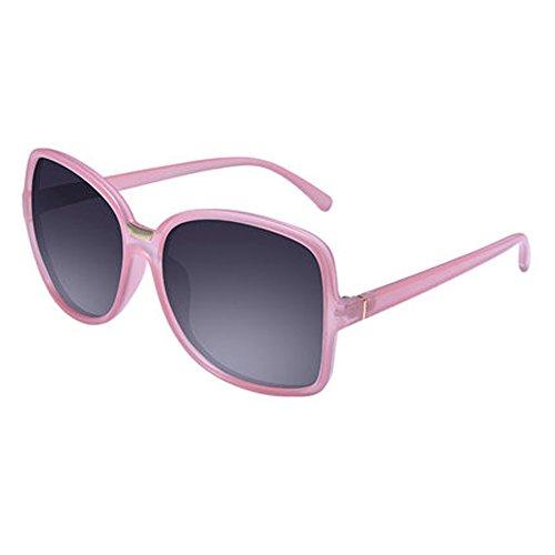 polarisées féminins rétro grand de protection lunettes rond soleil E Mme de avec modèles cadre lunettes UV 6gaxXt