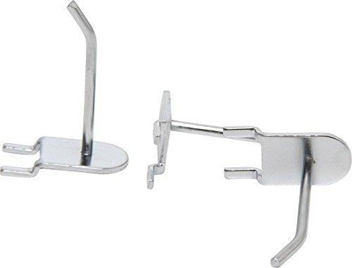 BGS Juego de ganchos para exposiciones pared, 10 piezas, sistema Tegometall –  , galvanizado, 1 pieza, 57 –  2 10piezas sistema Tegometall- 1pieza 57-2 57-2