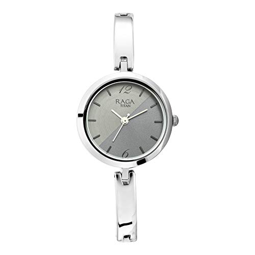 Titan Raga Viva Analog Silver Dial Women's Watch 2606SM05