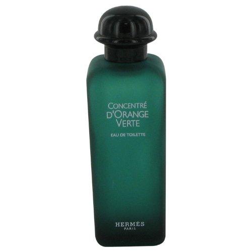 EAU D'ORANGE VERTE by Hermes Eau De Cologne Spray (Unisex Tester) 3.4 oz -100% Authentic