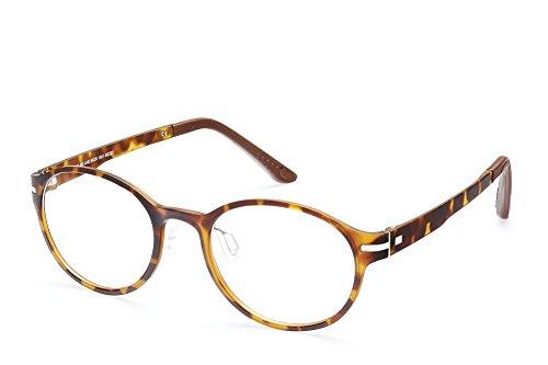 11183127924 Massimo Milano Retro Tortoise Brown 48mm Round Pescription Eyewear Frames