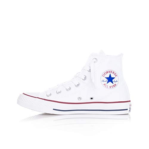 Converse Mens Chuck Taylor All Star High Top, 6 D(M) US, Optical White