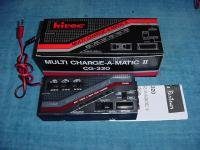 Multi Charge-A-Matic II CG-320 HiTec Battery Check & Delta RC Charger