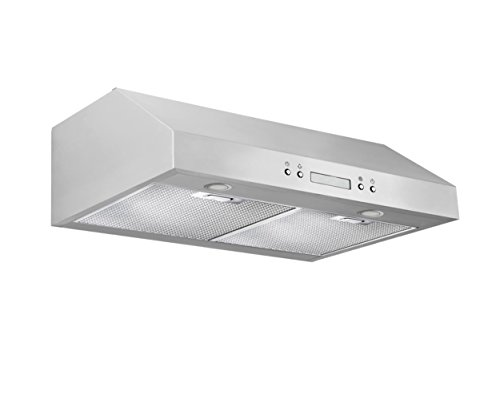 Ventilation Stainless Steel Downdraft (Ancona UCP430 Under-Cabinet Range Hood, 30-Inch, Stainless Steel)